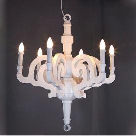 荷蘭Moooi Paper Chandelier lamp 木頭吊燈羅馬吊燈