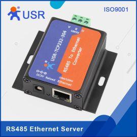 小体积 RS485转网络 串口设备联网服务器 以太网转串口模块 双向透明传输USR-TCP232-304