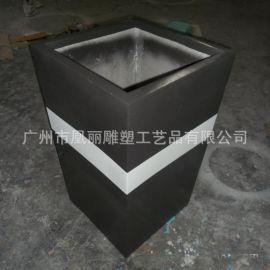 精品玻璃钢花缸 艺术装饰花箱玻璃钢花盆生产
