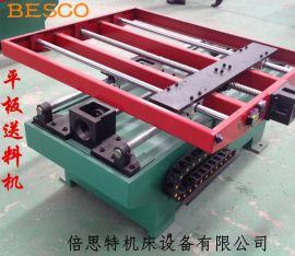 山东山西冲床配套平板送料机冲压太阳能组件家用电器组件冲压不锈钢板送料机