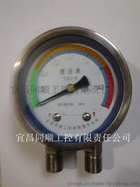 同顺工控优质不锈钢差压表,厂家  ,