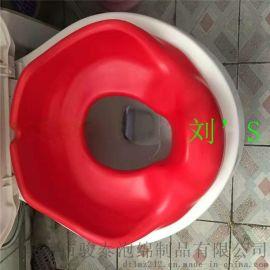 贴牌厂家定制柔软舒适PU马桶垫 自结皮马桶坐垫