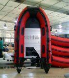 冲锋舟充气橡皮艇钓鱼船充气龙骨 皮划艇3.3米