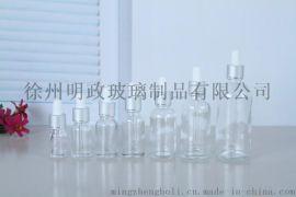 批发精油调配透明玻璃瓶化妆品分装小空瓶子DIY精油瓶5-15毫升