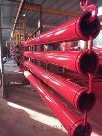 混凝土地泵管,三车双层耐磨泵管