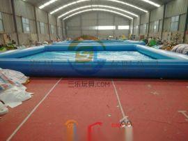 广西柳州儿童充气游泳池PVC材料环保耐用