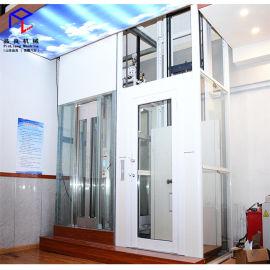 家用电梯  安全无底坑小尺寸 家用别墅电梯