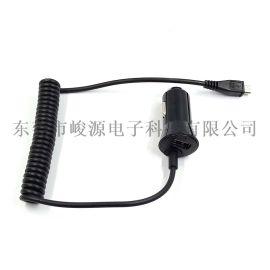 黑莓Z10弹簧线车充车载充电器