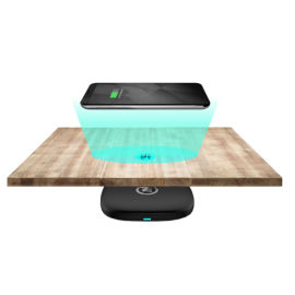 ZeePower隔空无线充电器,30mm远距离无线充电器,桌下无线充电器