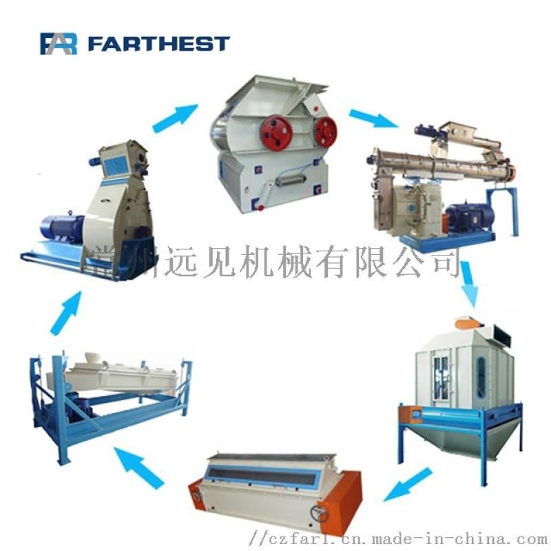 水产养殖饲料机组 饲料机组 饲料加工成套设备