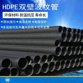 宏大鑫诚HDPE双壁波纹管厂家直销波纹管钢带波纹管