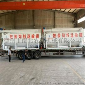 小型养殖场用6吨散装饲料运输车山东厂家报价