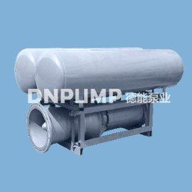 浮筒型轴流泵 黄河浮筒式潜水泵