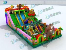 大型充气蹦蹦床|儿童充气蹦床价格|天津儿童游乐设备厂