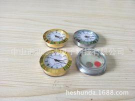 厂家直销38MM金属手表钟胆表头也可以做成3.8CM塑料钟胆钟头艺术钟配件