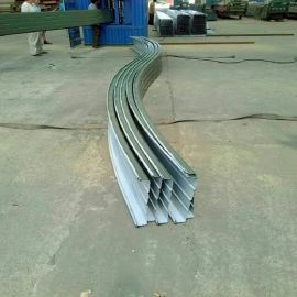 铝镁锰起拱瓦 铝镁锰弧形瓦 铝镁锰直立锁边瓦