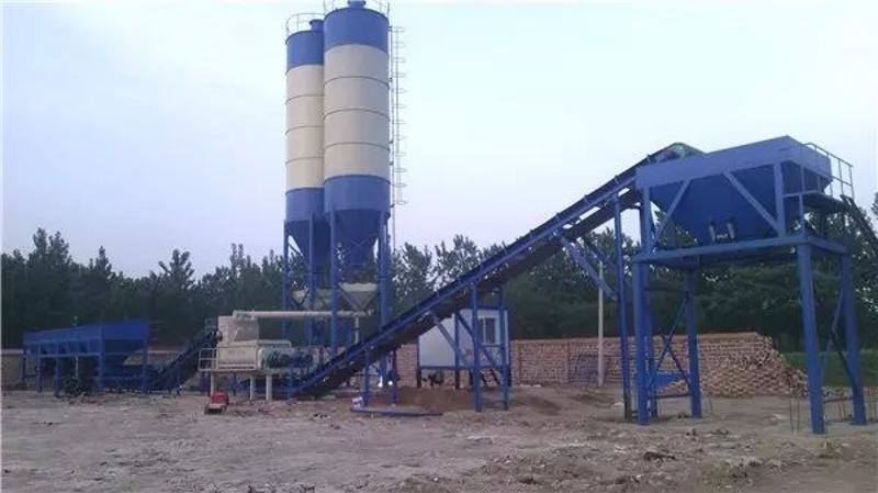WBZ300吨水稳搅拌站厂家价格 混凝土搅拌站