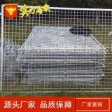 鍍鋅框架網 鐵絲網圍欄 小區圍欄網 堅固耐用1.8*3米圍網