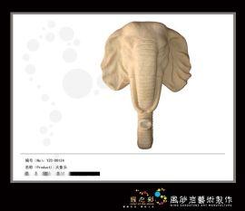 砂岩挂件-大象头(喷水)