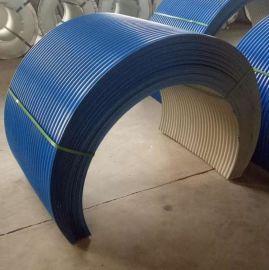 胜博 0.3mm-1.0mm180克镀锌压型板/耐腐蚀机器防雨罩/Q235B坲碳漆层波纹板