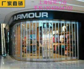 上海铝合金水晶折叠门厂家