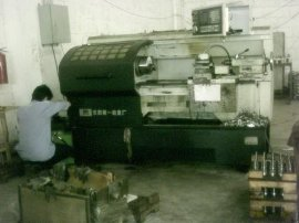 CNC车床改装液压卡盘(CAK6136,CAK6140,CAK6150)