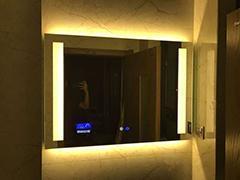 高清智能酒店led浴室镜