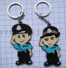PVC香港**钥匙扣 PVC软胶印刷钥匙扣