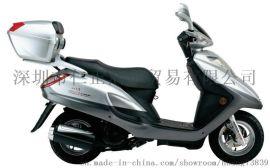 供应豪爵铃木天鹰HJ125T-16D踏板摩托车