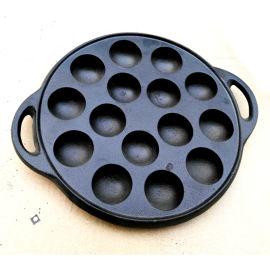 铸铁章鱼小丸子蛋糕煎锅不粘无油烟寿司工具饭团模具