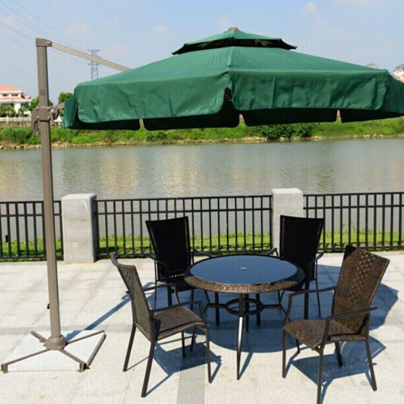深圳罗马伞可旋转伞休闲伞户外遮阳伞咖啡厅伞