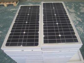 单晶纯黑色太阳能电池板屋顶光伏发电