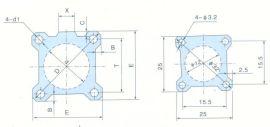 SMC铝合金薄型气缸管-A型(J003)