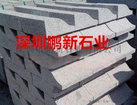 深圳石牌坊雕刻厂芝麻白-花岗岩石牌坊
