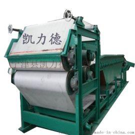 带式污泥固液分离设备 多效率煤矿污泥浓缩脱水一体机