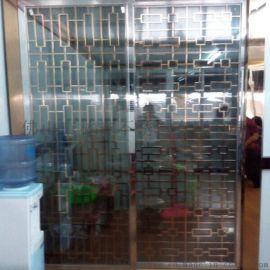厂家定制玄关客厅隔断 钛金玫瑰金不锈钢屏风