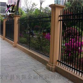 工地围墙护栏,别墅铁栅栏,景区锌钢护栏围栏