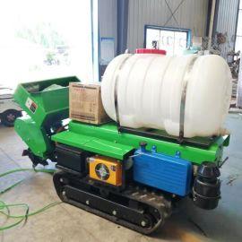 田园开沟施肥机,自走式开沟施肥果园管理机