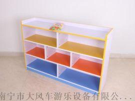 广西南宁幼儿园儿童防火板柜子 南宁幼儿玩具柜