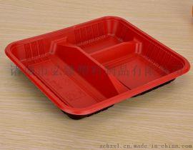 厂家销售三格餐盒一次性快餐盒一次性保鲜盒一次性饭盒一次性餐盒