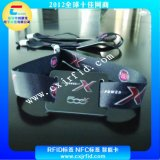 NFC编织腕带,F08编织腕带厂家,MI卡片编织腕带,娱乐场所门票