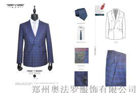 订制男士商务正装男西服套装韩版修身团购工装衬衣