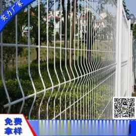 浸塑桃型柱护栏 广州低碳钢丝护栏 珠海公园铁丝网厂
