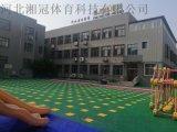 湖北室外拼装悬浮地板幼儿园专用地板