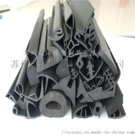 门槽橡胶条 木门防撞条 PVC橡胶密封条