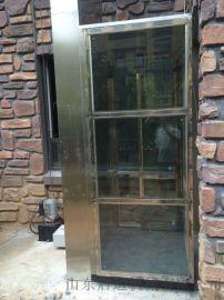 垂直液压电梯楼梯斜挂式平台观光电梯天津启运
