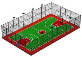 山东蜂动力体育器材厂家供应多功能运动场围网
