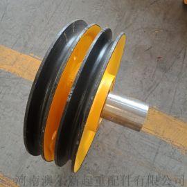 起重机滑轮组  优质吊钩滑轮组 轧制定滑轮