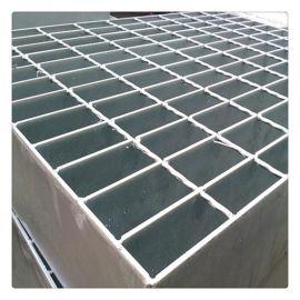 热镀锌钢格板生产厂家 齿形防滑钢格板踏步板