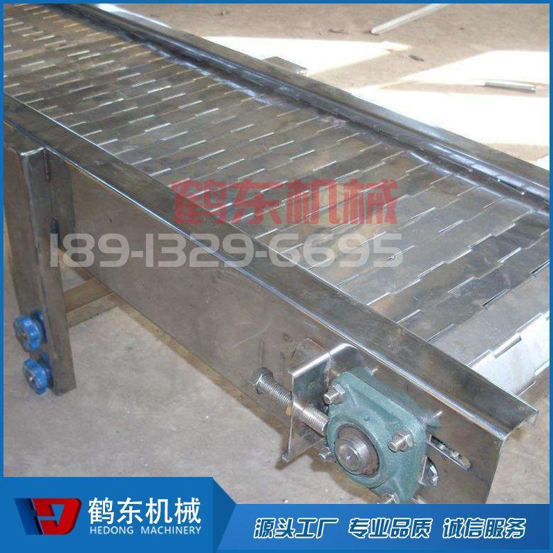 厂家定制链板输送机 重型链板输送机 撕碎设备专用